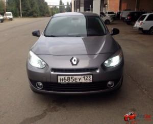Прокат Renault Fluence в Сочи